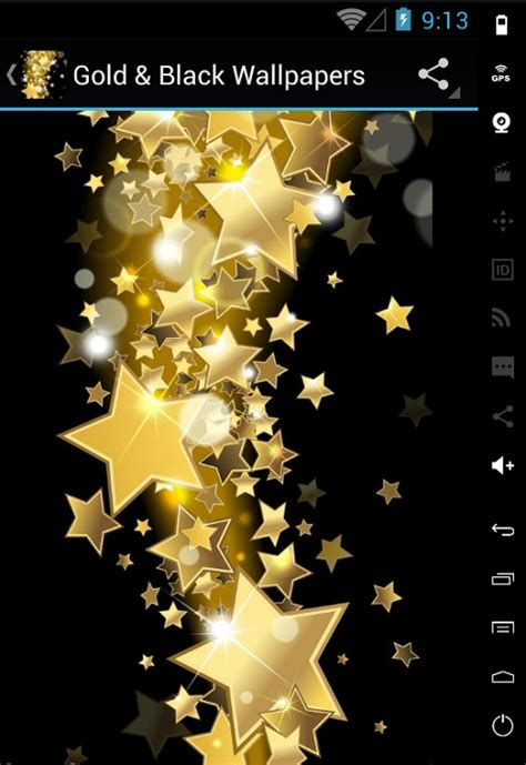 gold wallpaper for android gold and black hd wallpapers free android app android