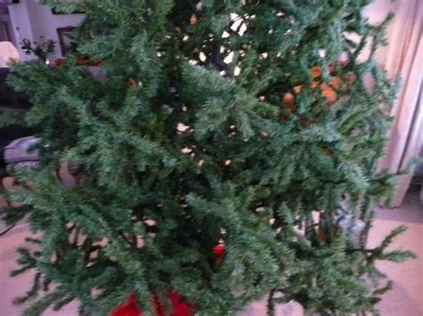 artificial tree with lots of lights lot large artificial tree 2 5 mtr