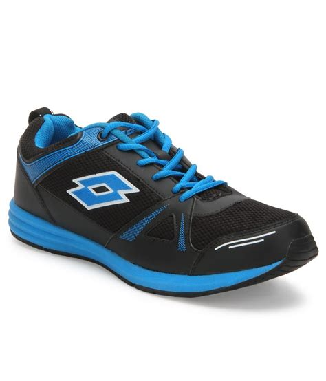 lotto sports shoes lotto hurry black sport shoes price in india buy lotto
