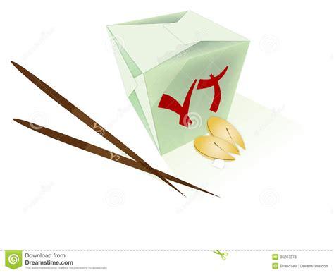 Origami Takeout Box - food stock photos image 36237373