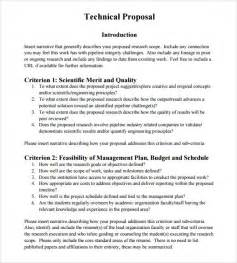 sample technical proposal 8 documents in psd word