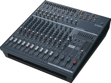 Yamaha Mixer Powered Mxer Emx5014c Emx 5014c Original yamaha emx5014c 14 input stereo powered mixer 500 watt