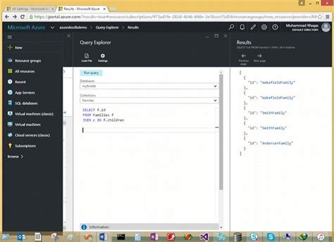 sql query in tutorial point documentdb sql joins