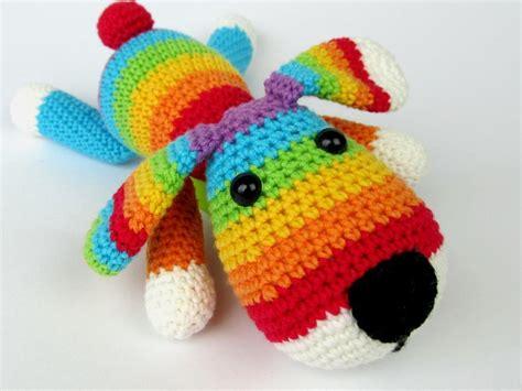 rainbow puppy rainbow puppy by dionedesign craftsy