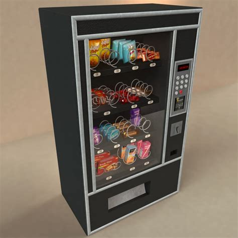 Sound Effects Machine Total Rate 0 Of 5 Reviews 0 Cartoo vending machine snacks 3d model