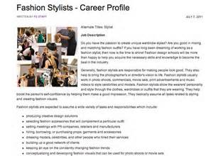 Fashion Show Dresser Description by How To Become A Fashion Stylist Just Another