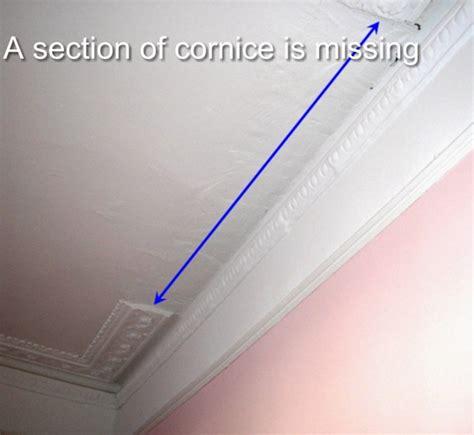 Plaster Cornice Repair plaster cornice restoration repair