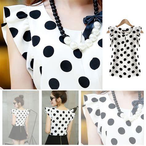 Blouse Fashion Import Jy776081 casual summer chiffon blouse sleeve shirts t