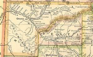 mesa county colorado map mesa county colorado genealogy census vital records