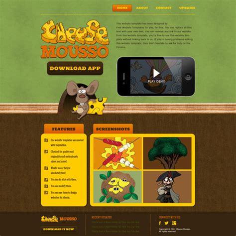 website templates for children s books children s app website template free website templates