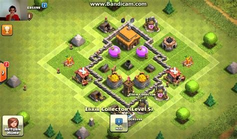 layout base coc th 3 clash of clans best town hall 3 th3 base defence