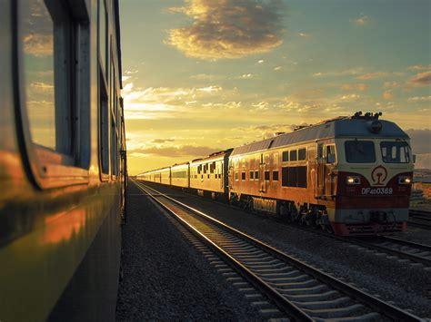express de treinend naar azi 235 met de trans mongoli 235 express