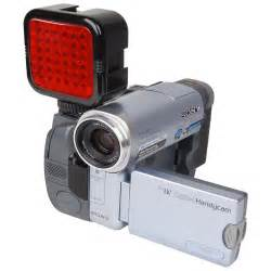 Red Light Night Vision Led Ir Night Vision Video Light For Camera Camcorder