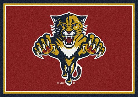 Team Rugs by Milliken Nhl Spirit 01311 Florida Panthers Team Area Rug