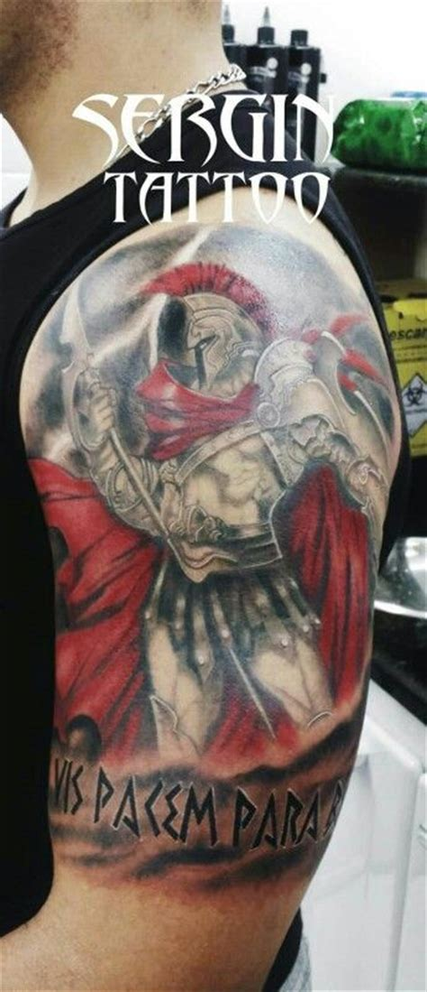 si vis pacem para bellum tattoo si vis pacem para bellum spartan espartano