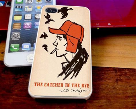 Catcher In The Rye Book A0241 Iphone 4 4s 5 5s 6 6s 6 Plus 6s P 85 best phone cases images on iphone 4