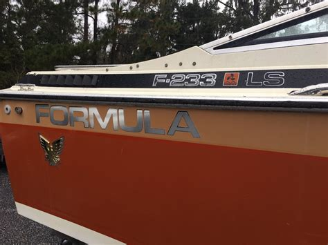 formula boat hull for sale 1982 23 thunderbird formula boat for sale the hull