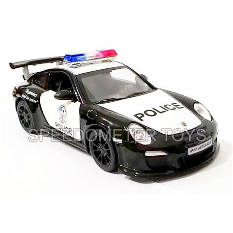 Mainan Mobil Polisi Pullback 0552 jual diecast mobil polisi kinsmart 2010 porsche 911 gt3 rs