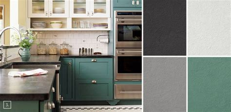 kitchen color combinations a palette guide for kitchen color schemes decor and paint