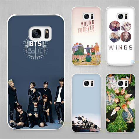 Samsung Galaxy S5 Bts Star1 bangtan bts boys white coque shell cover phone cases for samsung galaxy s4 s5 s6 s7