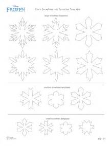 Frozen Snowflake Templates by 7 Best Images Of Elsa Snowflake Stencil Printable Frozen