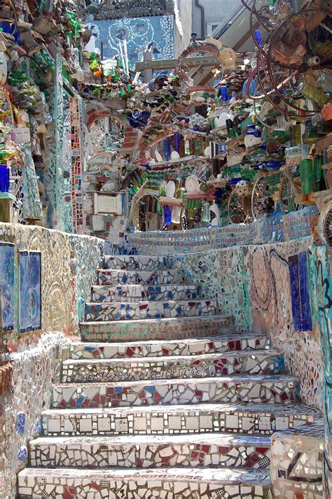 from trash to treasure can you see the magic in philadelphia s magic gardens power of
