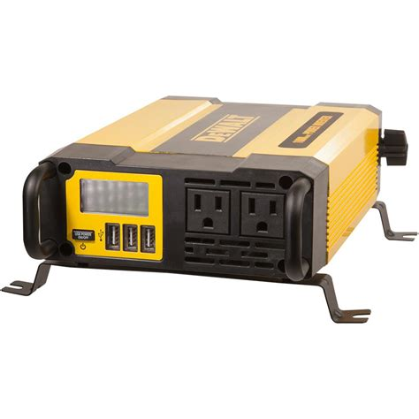 Power 1000 Watt dewalt 1000 watt power inverter dxaepi1000 the home depot