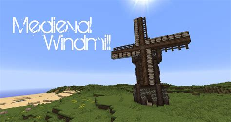 tutorial windmill youtube minecraft medieval windmill tutorial youtube