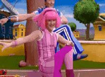 Meme Gif Generator - lazytown stephanie dancing stretching her legs