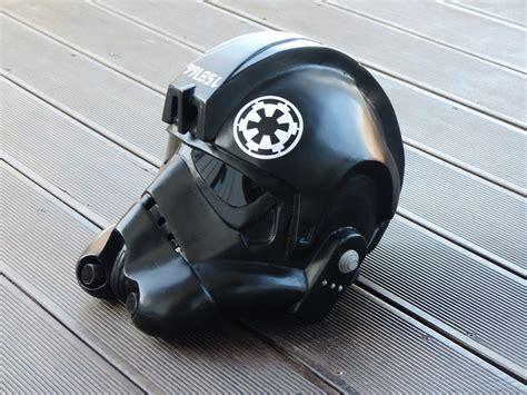 star wars making tie fighter helmet papercraft pepakura