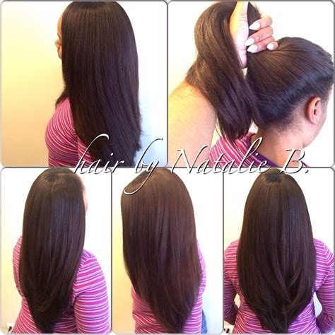 straight hair sew in styles amazing versatility high ponytails or sleek sexy