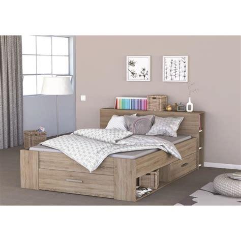 lit avec rangement 140 x 190