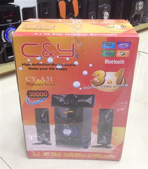 Sepaker Advance A31 new arrival cy a31 3 1 bluetooth multimedia speakers system factory wholesale bluetooth speaker