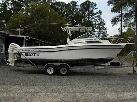grady white offshore fishing boats for sale grady white 242g offshore boats for sale in south carolina