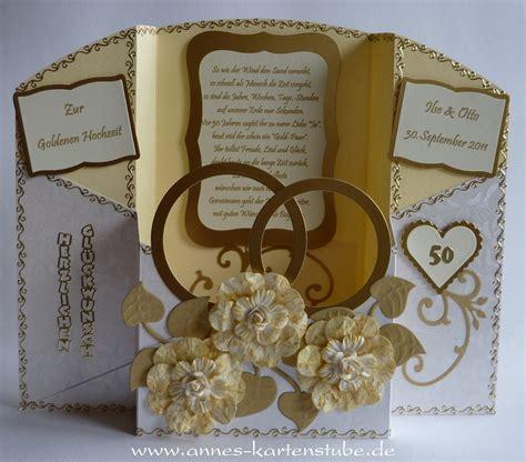 Günstige Einladungskarten by Dekoration Goldene Hochzeit Basteln Execid