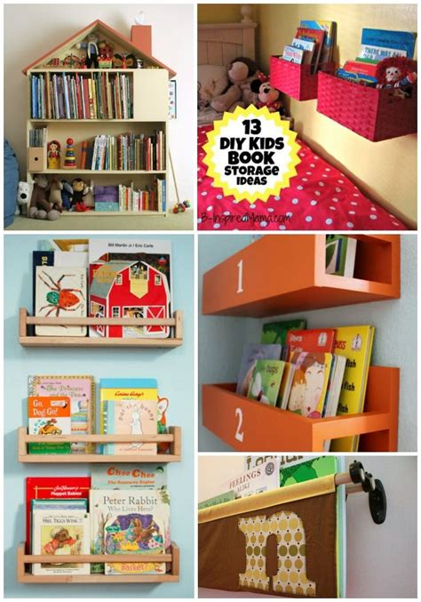 17 best ideas about kid book storage on book