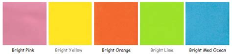 kids color pallette kids party color options