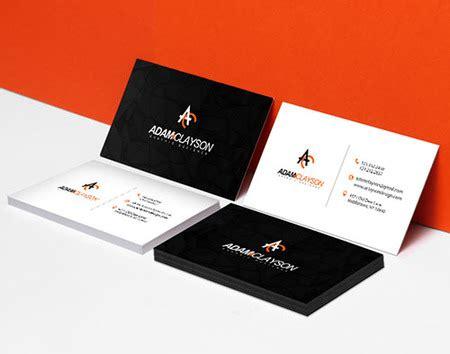 Printing Press Business Card Design