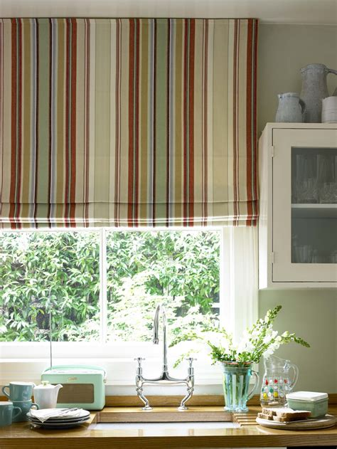 kitchen curtains blinds seaside chic for the kitchen kitchen sourcebook