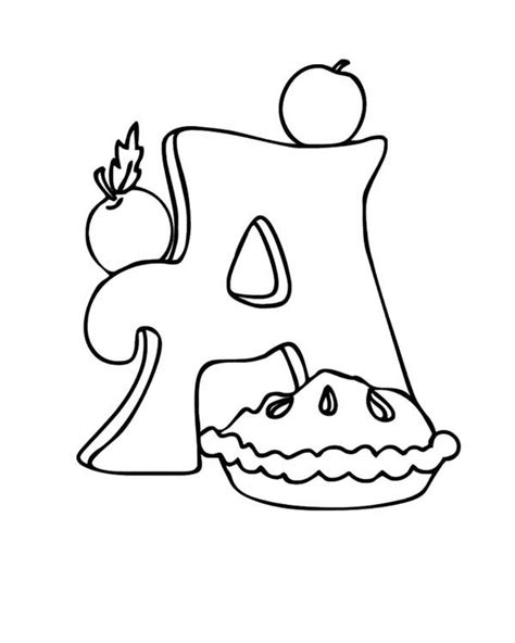 coloring page apple pie simple apple pie drawing sketch coloring page