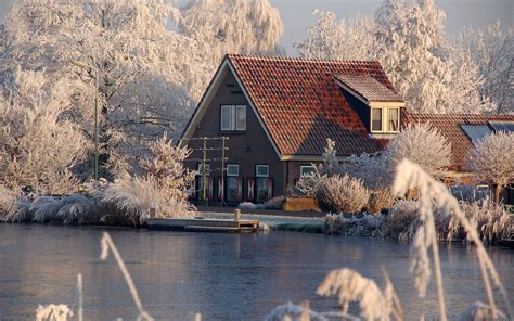 winter houses winter houses wallpaper
