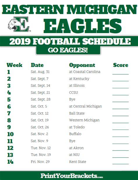 Michigan Football Schedule 2018 Printable