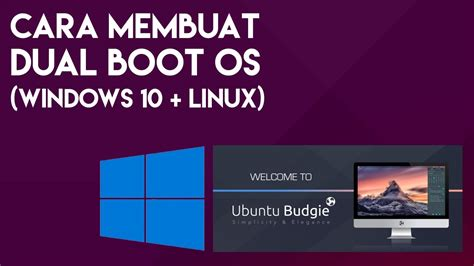 cara membuat flyer online cara membuat dual boot os windows 10 dan linux youtube
