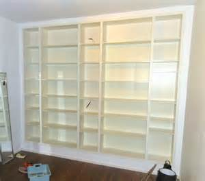 height of bookshelves yet another billy built in ikea hackers ikea hackers