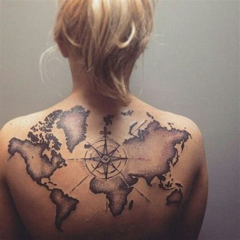 map tattoo ideas creative map tattoos for the traveling type