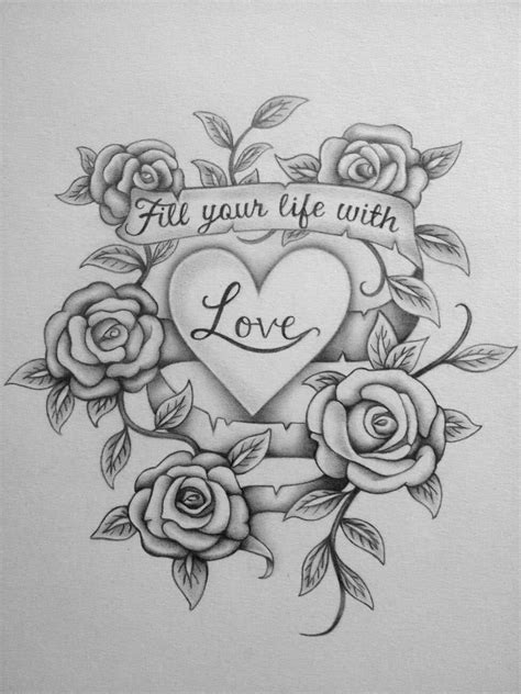 images of love for drawing 16 flower drawings jpg download