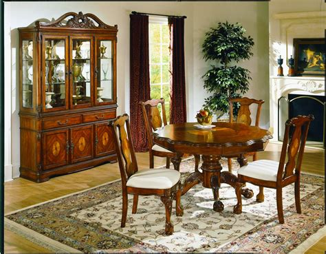 homelegance mediterranean dining collection d1366 54