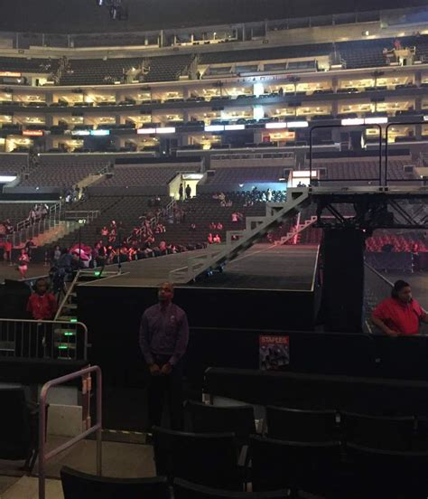 staples center section  row  seat  bigbang