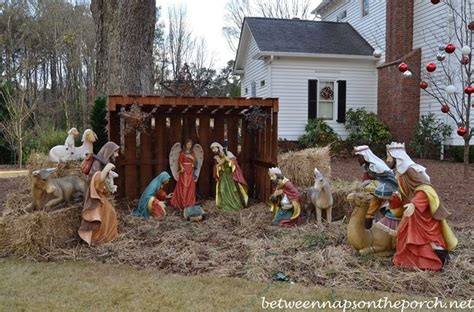 landscaping landscaping ideas front yard nativity scenes
