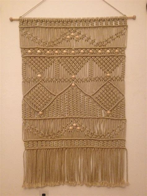 macrame wall hanging macrame home decor macrame headboard